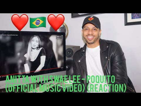 Anitta with Swae Lee - Poquito (Official Music Video)(reaction)