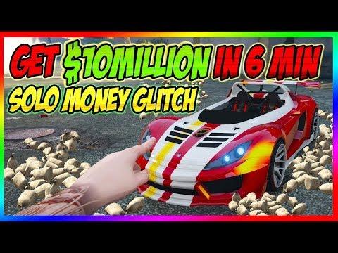 New Unlimited Solo- GTA 5 MONEY GLITCH *Fast Way To Make Million$* GTA Online 1.48 Money glitch