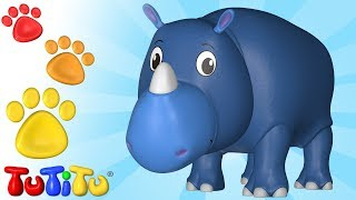 Animal Toys for Children | Rhino | TuTiTu Animals