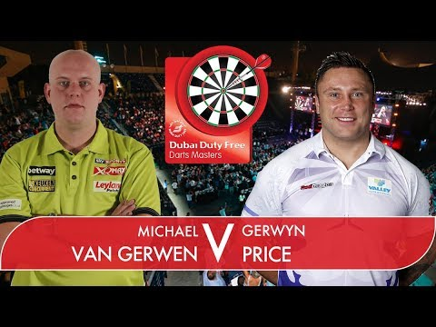 2017 Dubai Duty Free Darts Masters Semi Final van Gerwen vs Price