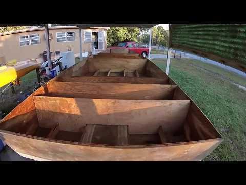 Building My Dream Boat,  Bateau Extreme Flats 20