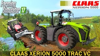 Farming Simulator 17 CLAAS XERION 5000 TRAC VC TRACTOR