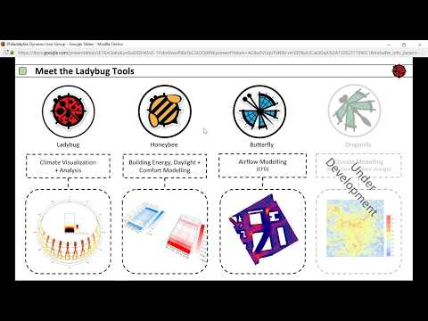 Philadelphia Dynamo User Group - Sept 12 - Ladybug Tools