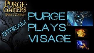 Dota 2 Purge plays Visage