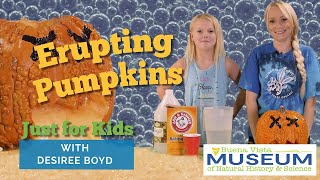 Just For Kids STEM Activities: Erupting Pumpkins