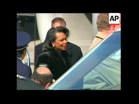 US Secretary of State arrives ADDS meets PM Fukuda