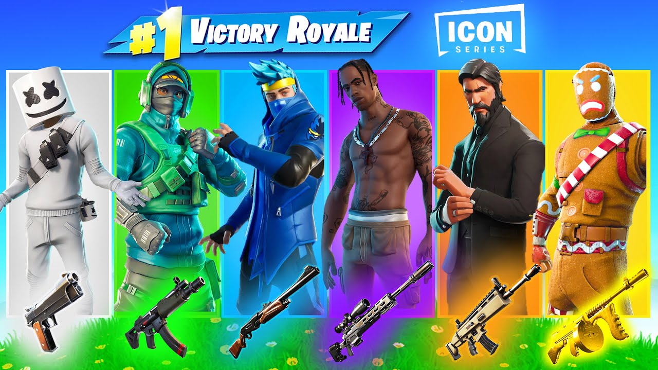 The Random Icon Skin Challenge Youtube Search more hd transparent fortnite skins image on kindpng. the random icon skin challenge