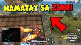 CHEATER!! NAMATAY SA ZONE! HAHAHA! [TAGALOG] (Rules of Survival: Battle Royale)