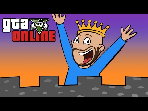 GTA 5 Online ★ SUPER KING OF THE CASTLE (Dumb & Dumber)