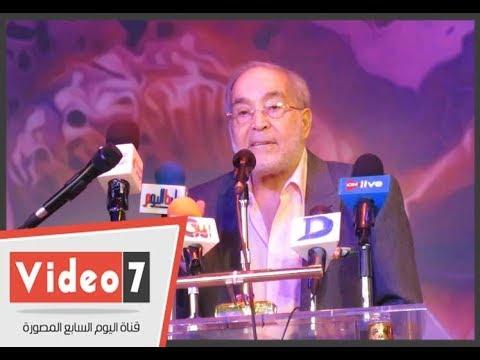 حسن يوسف لطلاب أكاديمية الفنون الخسارة لا تعني نهاية الطريق  - 02:21-2017 / 10 / 20