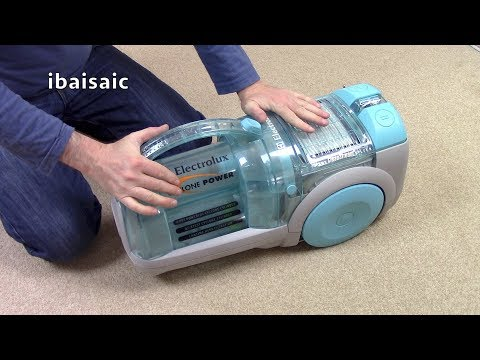 Electrolux Cyclone Power Bagless Vacuum Cleaner Unboxing & First Look
