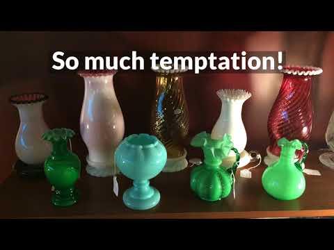 Fenton Art Glass – Michigan Depression Glass Society 2018 Annual Show