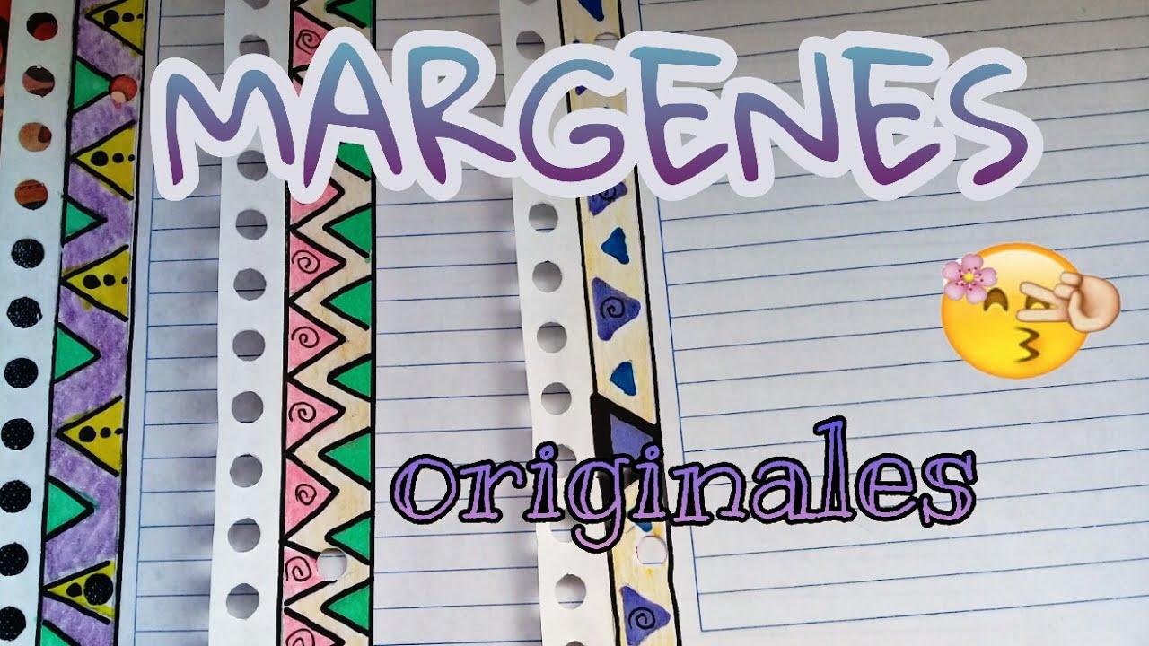 Margenes bonitos para cuadernos especial regreso a clases - Marcos de papel para fotos ...