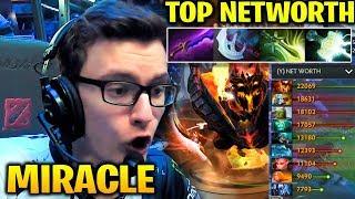 MIRACLE Shadow Fiend vs Fn! - TOP NETWORTH AS ALWAYS