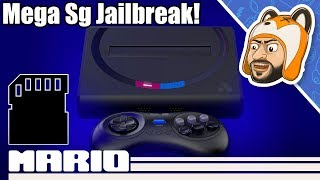 How to Jailbreak Your Analogue Mega Sg! - Play Games From a SD Card