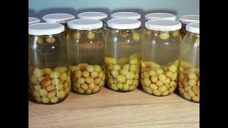 Виноградный ( вишневый, клубничный) компот без варки ягод. Самый простой рецепт! Проверенный годами.