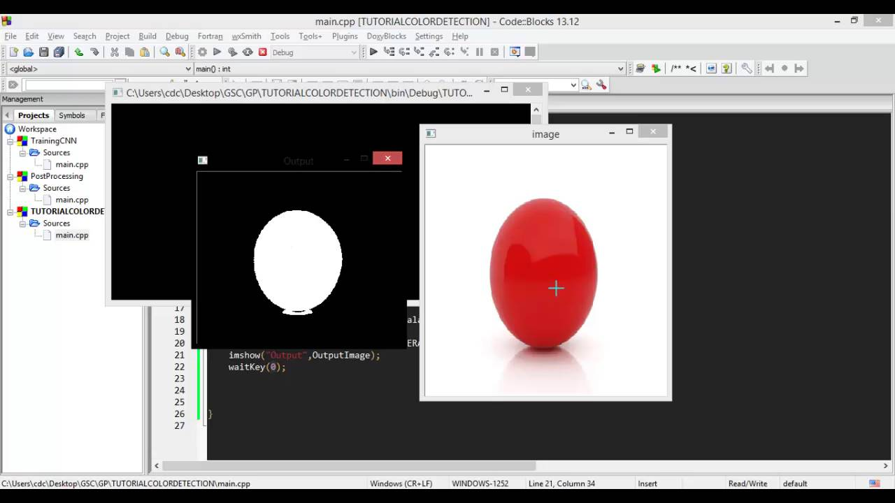 Color Detection Tutorial using OpenCV
