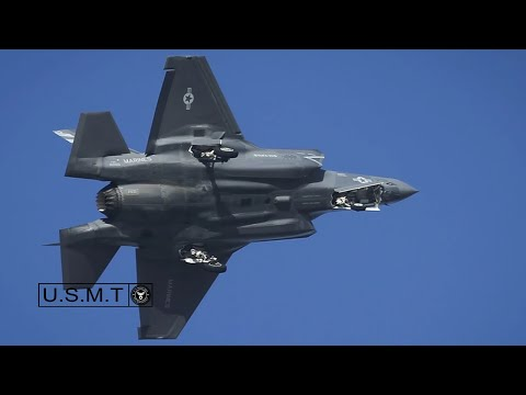 Stunning Video Of F-35 Jet In Action- Short Takeoff, Dropping Boms & Vertical Landing
