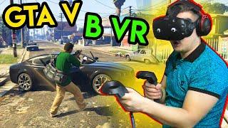 GTA V в VR | HTC Vive | Глюк и глюки в GTA 5