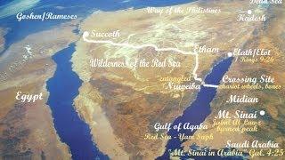 EXODUS REVEALED!!- Hard Evidence in Red Sea of Israel