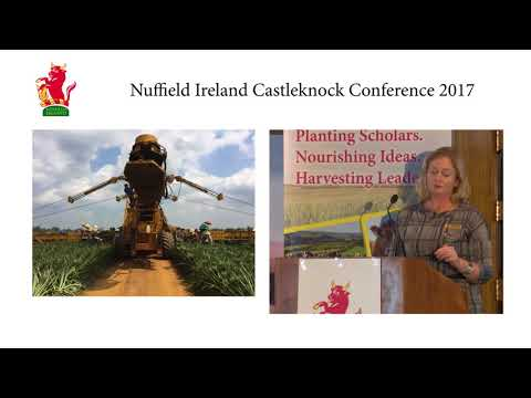 """Farms Selling Direct to Consumers""  2016 Nuffield Ireland Scholar Ailbhe Gerrard"