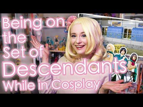 We Accidentally Crashed the Set of Descendants | Cosplay Storytime | AnyaPanda