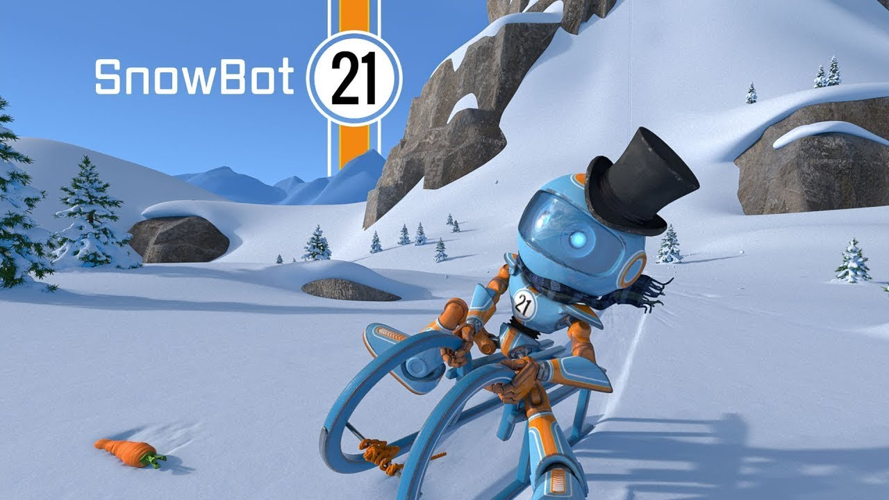 Una sonrisita de buena mañana, nunca viene mal...SnowBot 21 - CGI 3D Animated Short Film