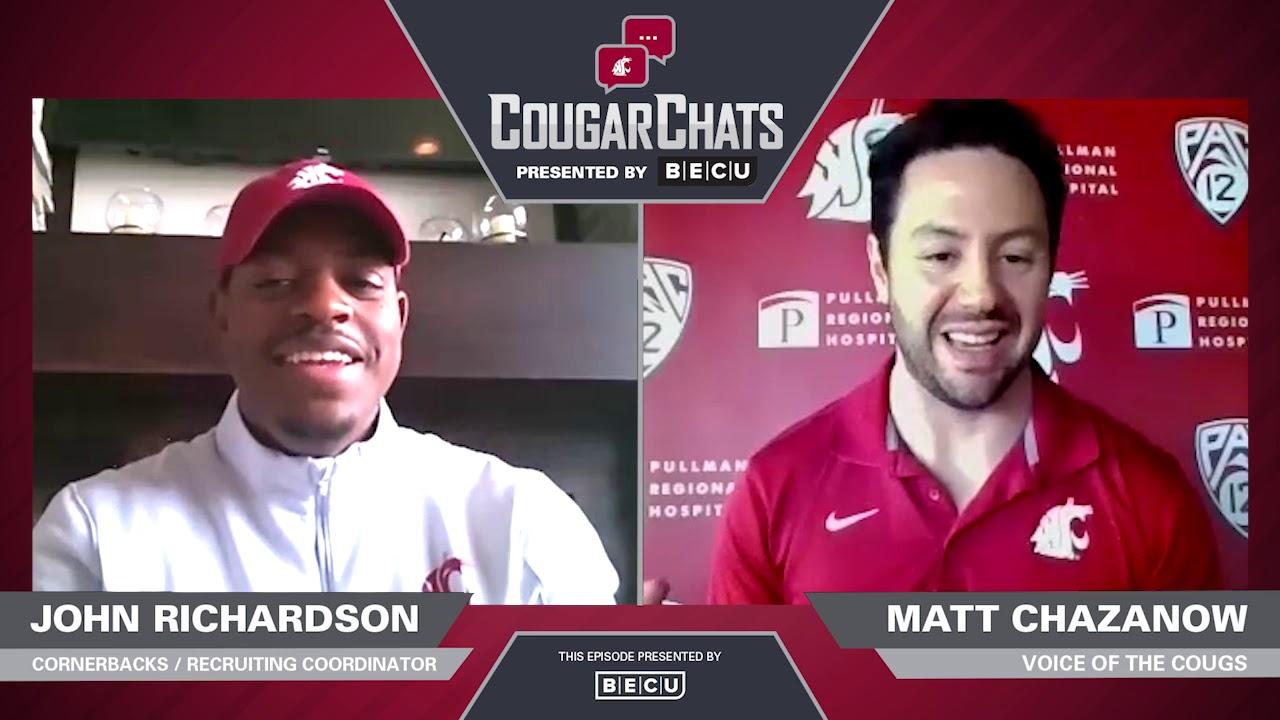 Image for WSU Athletics: Cougar Chats with Coach John Richardson webinar