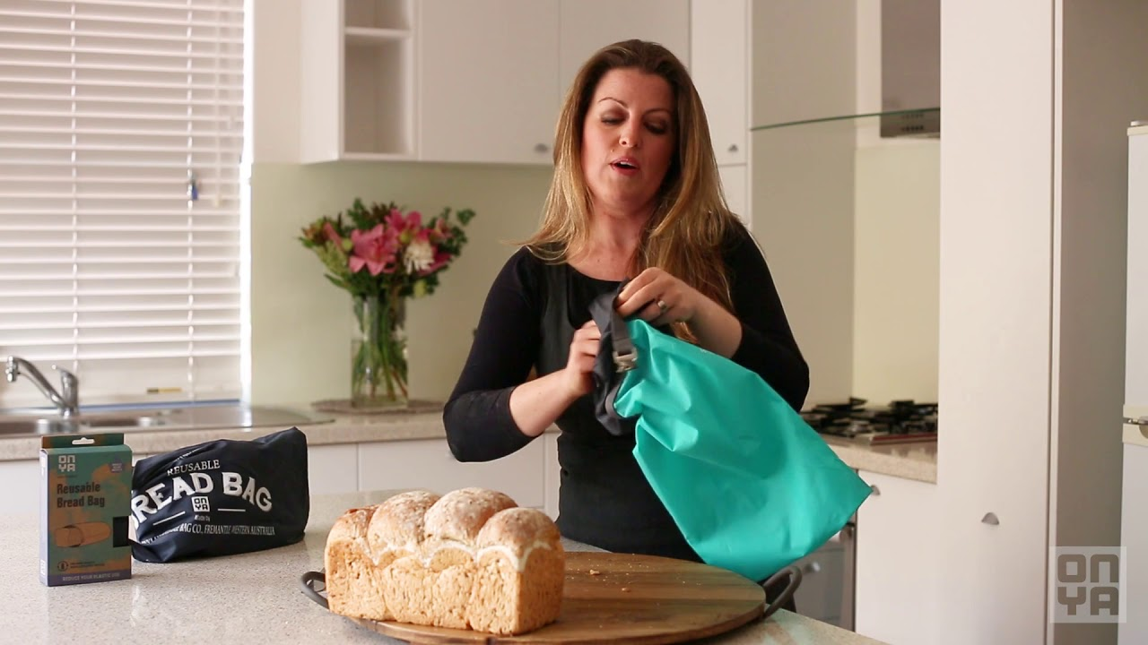 How It Works Reusable Bread Bag