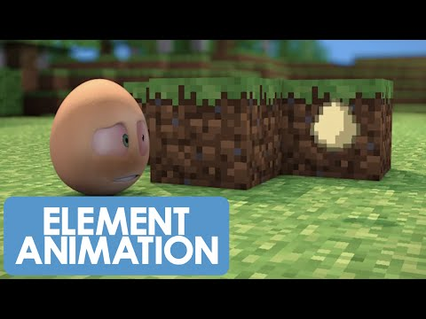 An Egg's Guide to Minecraft - PART 2 - Look at my awesome house! (Minecraft Animation)