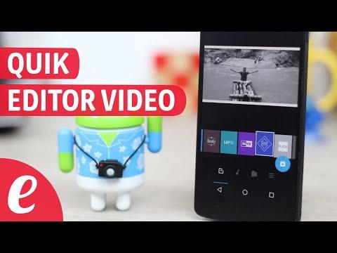 Como usar Quik editor de video (español)