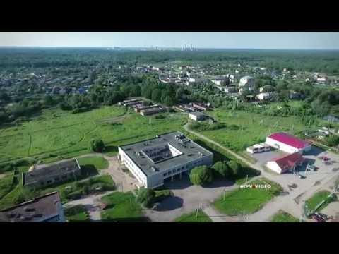 Поселок Сырково с высоты птичьего полета