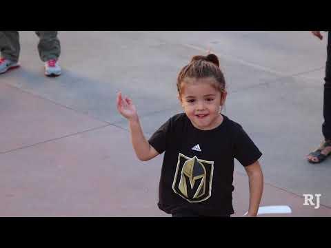 Vegas Golden Knights fans storm T-Mobile Arena