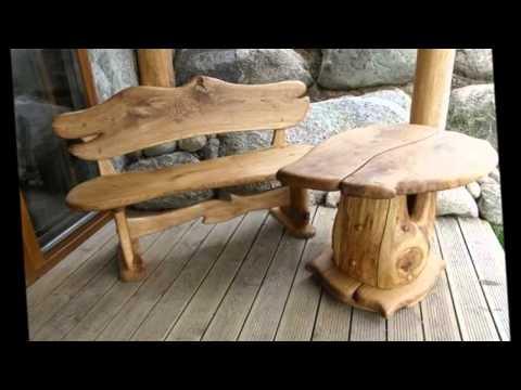 Как сделать садовую деревянную лавку своими руками.Садовая мебель из дерева своими руками.mp4