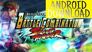 STREET FIGHTER BATTLE COMBINATION PARA ANDROID APK DOWNLOAD