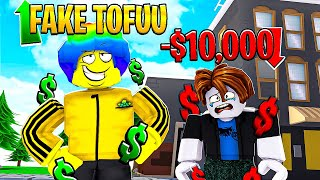 FAKE TOFUU SCAMMED $10,000 from my FANS... But It's NOT What I Thought.. (Roblox)