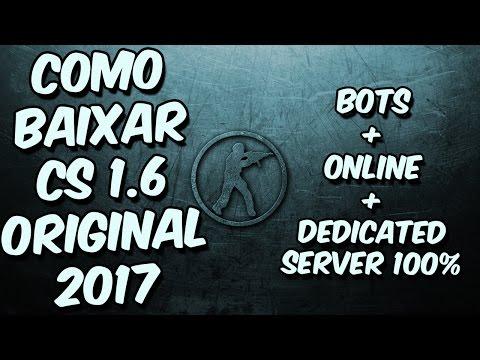 Como Baixar  CS 1.6 Completo Original 2017