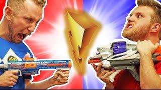 NERF Power Rangers Challenge!