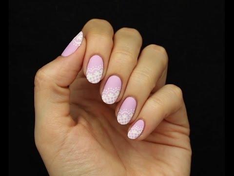 Яркий акцент маникюр на острые ногти Салон красоты
