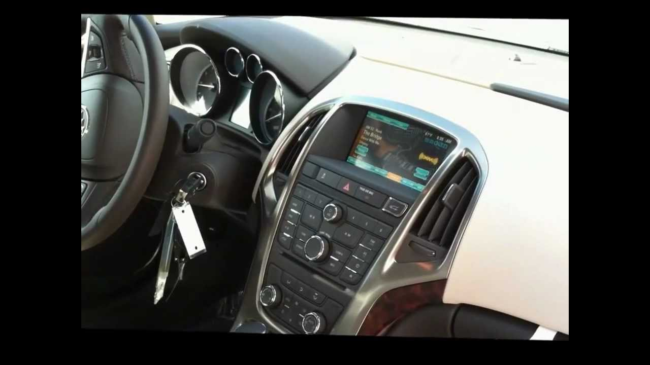 2012 Buick Verano White with cashmere interior   YouTube 2012 Buick Verano White with cashmere interior