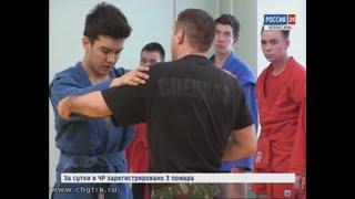 Чебоксарским кадетам дают уроки профмастерства сотрудники спецподразделения полиции «ГРОМ»