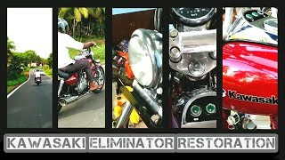 Kawasaki Eliminator Restoration | Kawasaki Eliminator Review | Eliminator Painting Restoration |