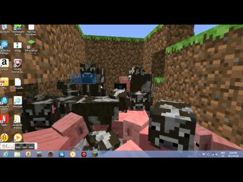 How To Put Your Minecraft Screenshot On Your Windows Desktop Background