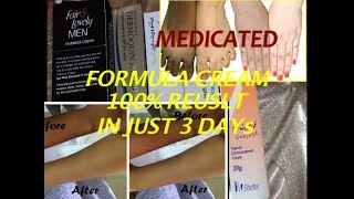 Medicated hand and foot whitening formula cream in Urdu and Hindi by hbfc