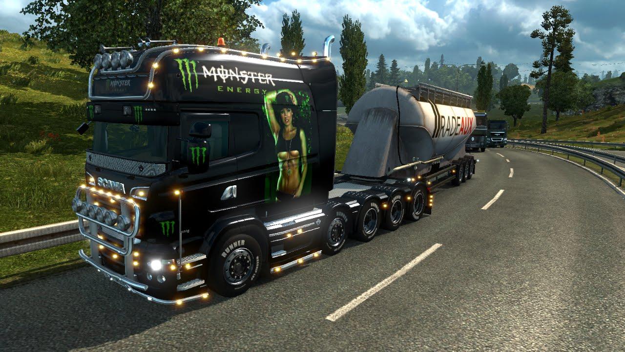 Скачать моды для игры euro truck simulator