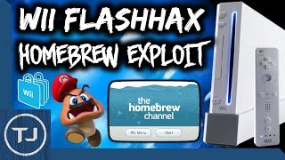 NEW! Wii Homebrew Channel Exploit! (FlashHax) [No SD Required] 2017!