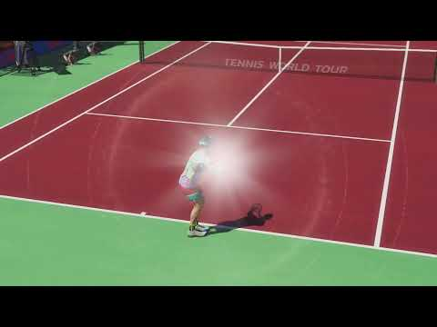 DRT Plays Tennis World Tour 2  