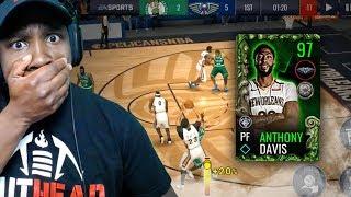 97 OVR ANTHONY DAVIS SHOOTING FADEAWAY 3-POINTERS! NBA Live Mobile 19 Season 3 Ep. 16