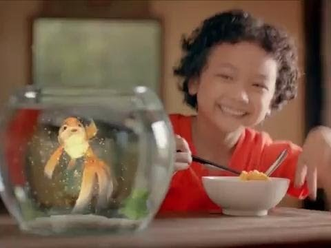Quảng cáo KOKOMI mới nhất tặng ngay bộ câu cá thông minh