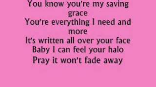 beyonce-halo lyrics